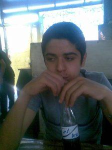 عکس دوران کودکی فرید مسعودی