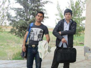 عکس رحیم آقا بیگ زاده و فرید مسعودی