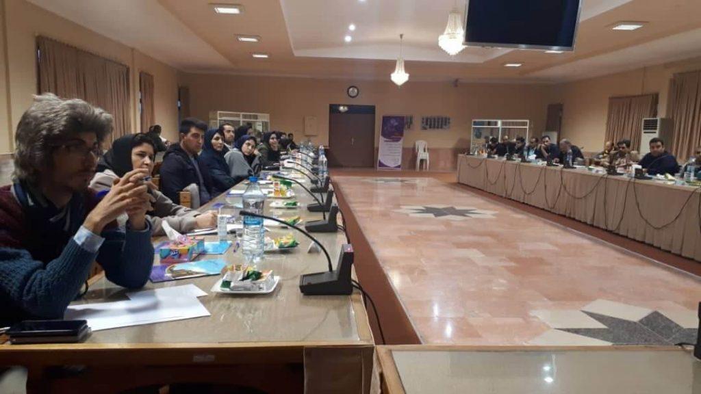 افراد شرکت کننده در ورکشاپ تحقیقات بازار فرید مسعودی