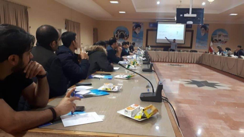دانشگاه گلستان محل برگزاری کارگاه فرید مسعودی