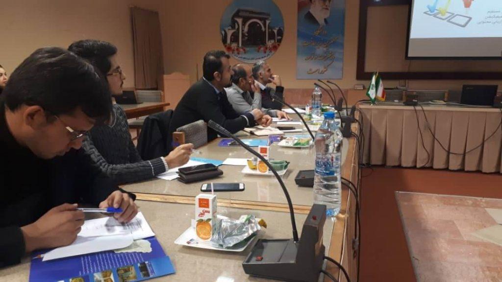 افراد شرکت کننده در کارگاه فرید مسعودی
